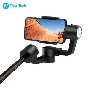 Image 4 - Feiyu vimble 2S vimble2S Smartphone 3 ציר כף יד Gimbal מייצב עבור iPhone X Gopro sjcam xiaomi Huawei סמסונג טלפון