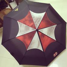 Resident evil biochemiczny 6 parasol motyw parasol Lyon animowany parasol na każdą pogodę trzy składany parasol tanie tanio