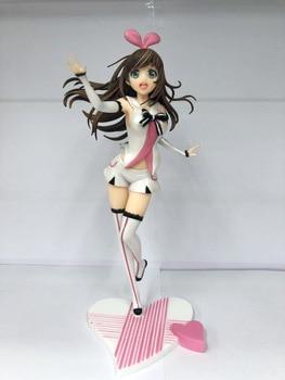 ¡Amor en que Canal Kizuna AI ropa blanca Ver! Muñeca coleccionable de PVC pintada a escala 1/7 con figura de acción de Anime para chicas modelo Sexy