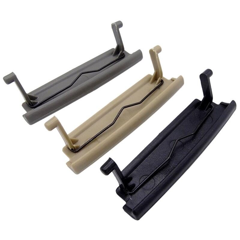 Tapa de reposabrazos de coche negro/gris/Beige, pestillo de cubierta para consola de centro de coche Audi A3 8P 03-12, accesorios de automóviles