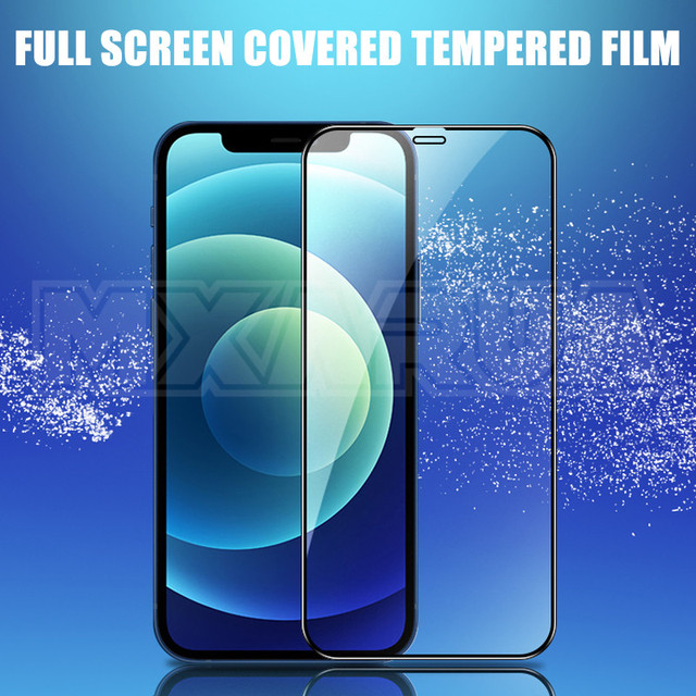 2000D Curved Protective Glass For iphone 6 6S 7 8 Plus SE Screen Protector on iphone X XR XS 11 12 Pro Max Tempered Glass case 4
