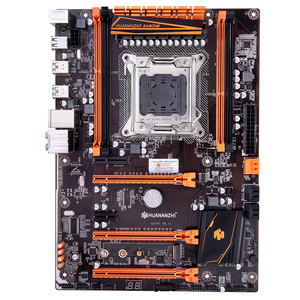 Image 5 - Скидка материнская плата с M.2 слотом HUANANZHI deluxe X79 материнская плата с процессором Intel Xeon E5 2650 V2 ram 32G (4*8G) REG ECC