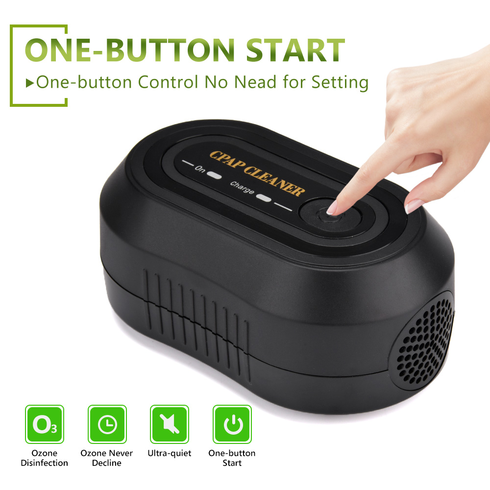 Image 4 - Portable CPAP Cleaner Ozone Ventilator Disinfector Sleep Aid Breathing Air Purifier Respirator Disinfection Machine Health CareSleep & Snoring   -