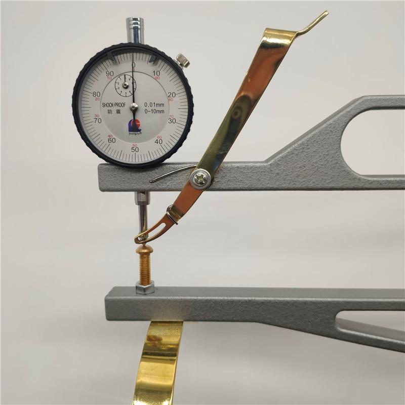 Ferramentas de fabricação de violino, alta qualidade violino espessura medida ferramentas dial indicador