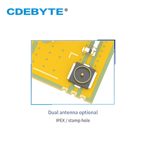 Image 3 - E43 900T13S3 UART 868mhz 915 MHz 20mW IPX Stamp Hole Antenna IoT uhf SMD Wireless Transceiver Transmitter and Receiver RF Module