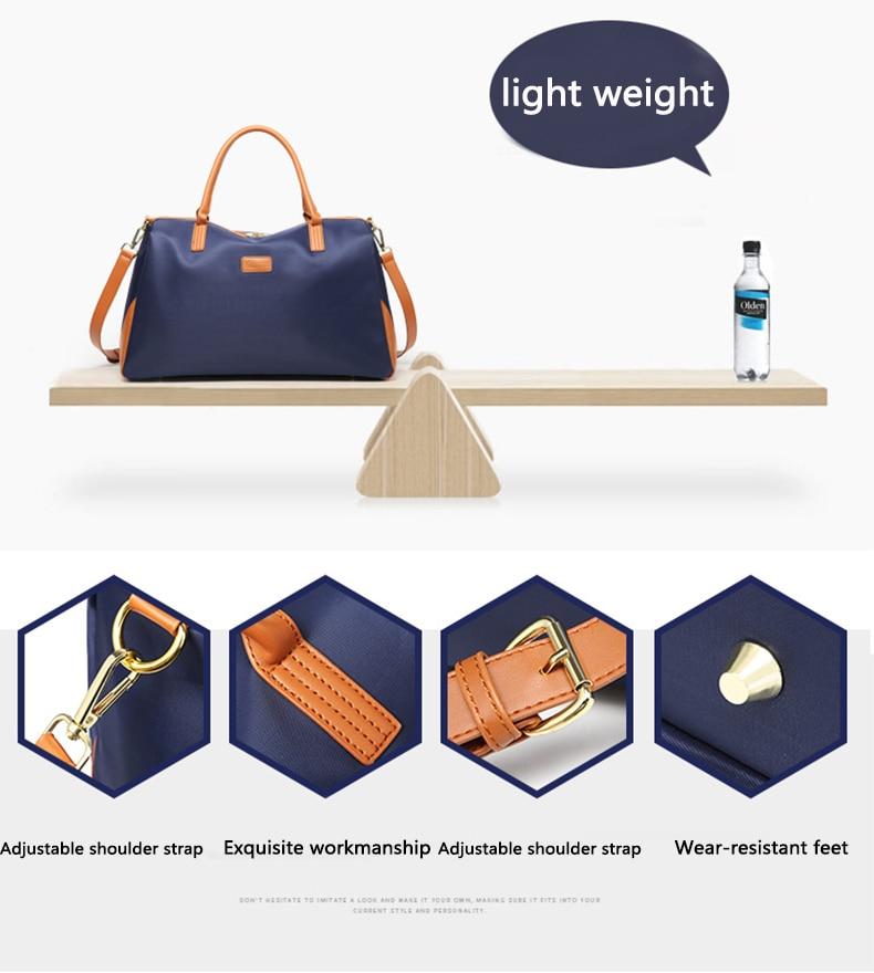Unisex nova moda bolsa de viagem à