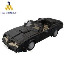 Firebird 1977 şehir süper araba yarışı yapı taşları Technicalal spor Racer araç Supercar çocuk hız tuğla oyuncaklar hediyeler