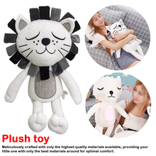 40cm Kawaii Plush Cat Lion Doll Toys For Children Room Decor Stuffed Plush Toys Kids Baby Appease Doll Christmas Gift цена в Москве и Питере