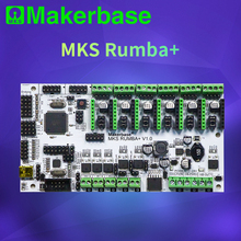 Makerbase MKS Rumba все в одном материнская плата умный контроллер 2560 R3 процессор Rumba board совместимый MKS TFT дисплей