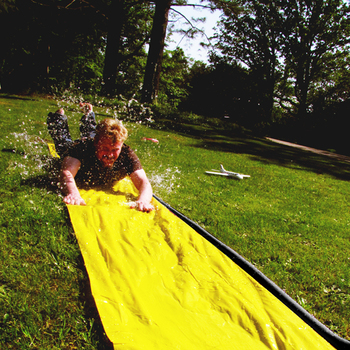Inflatable Water Slide Swimming Pool 3