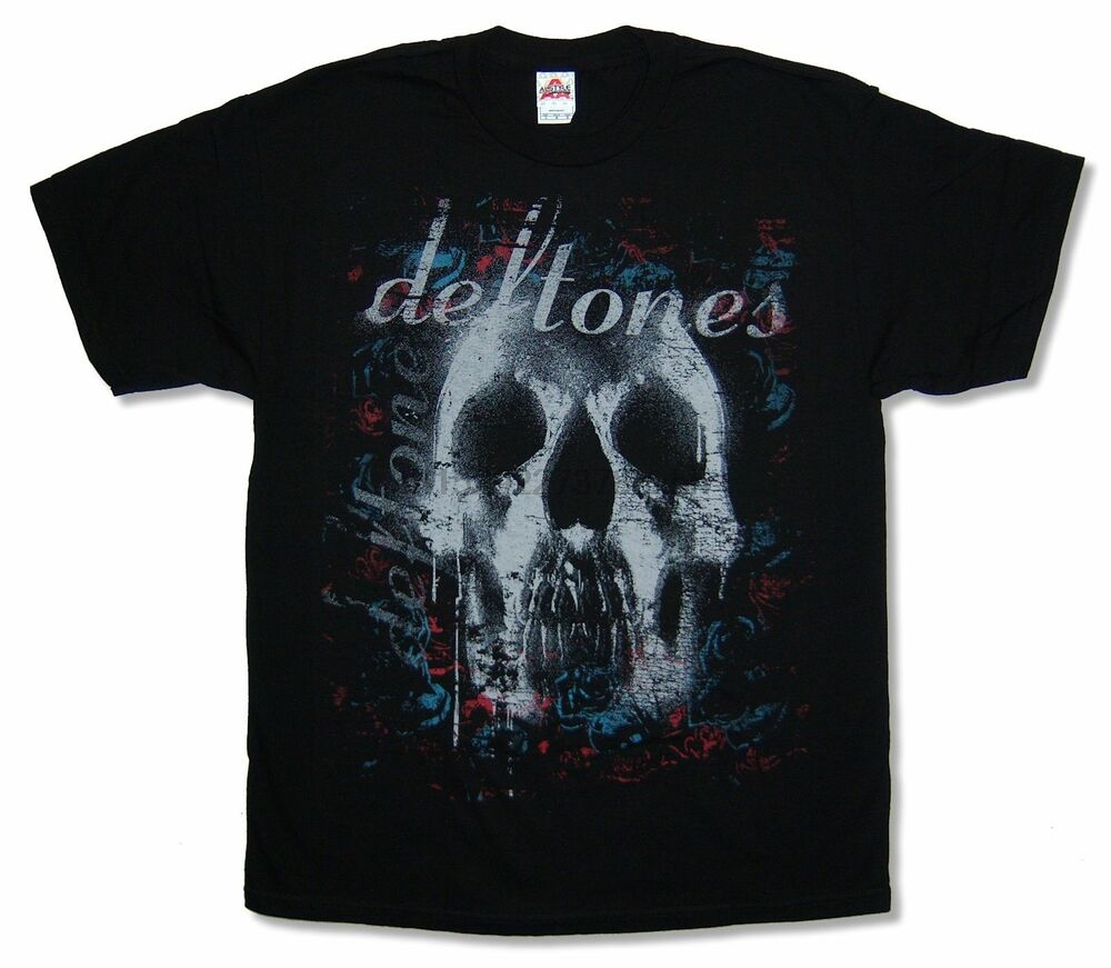 Official Deftones Skull T-Shirt