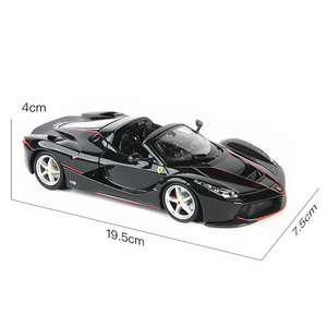 Image 3 - Bburago 1:24 FerrariสูงเลียนแบบรถDie หล่อโลหะรุ่นของเล่นเด็กของขวัญแฟนจำลองรถคอลเลกชัน