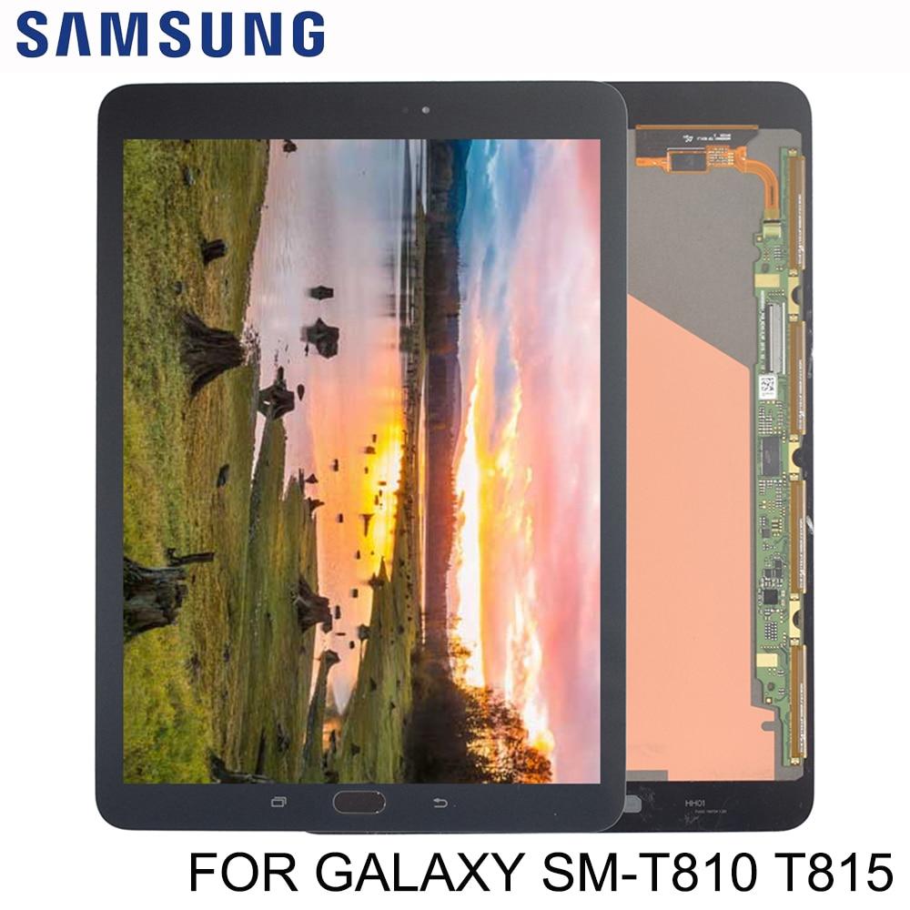 Nouveau panneau d'affichage LCD 9.7 pouces complet + verre numériseur écran tactile pour Samsung Galaxy Tab S2 T810 T815 T819 assemblage numériseur