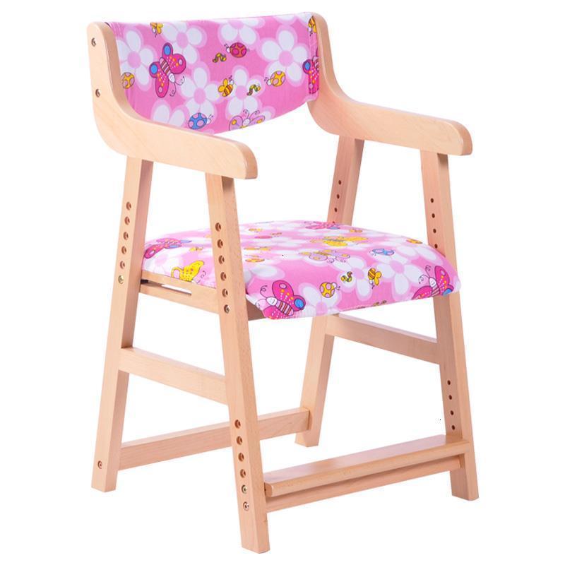 Infantiles Table Dinette Kids Kinder Stoel Wood Chaise Enfant Cadeira Infantil Children Baby Furniture Adjustable Child Chair