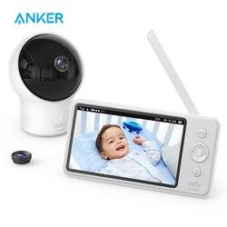 Video Baby Monitor, eufy di Sicurezza Video Baby Monitor con la Macchina Fotografica e Audio, 720p Risoluzione HD, 110 ° Obiettivo Grandangolare Incluso