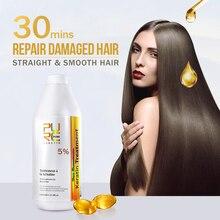 Trattamento alla cheratina brasiliana al 8% per forti prodotti per acconciature e shampoo purificante da 300ml prodotti per parrucchieri allingrosso