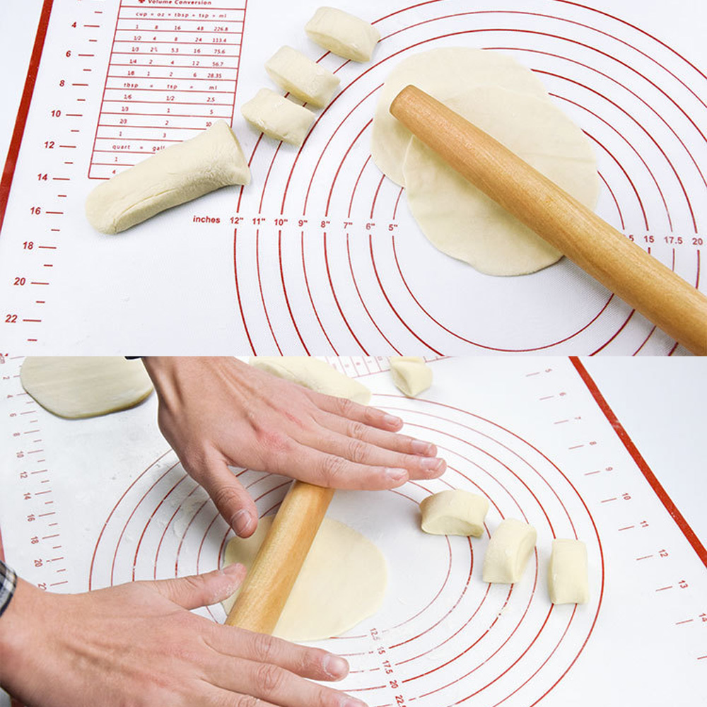 60*40CM Silicone Baking Mats Sheet Dough Non-Stick Maker Holder Pastry Kitchen Cooking Tools Utensils Bakeware Accessories Pakistan