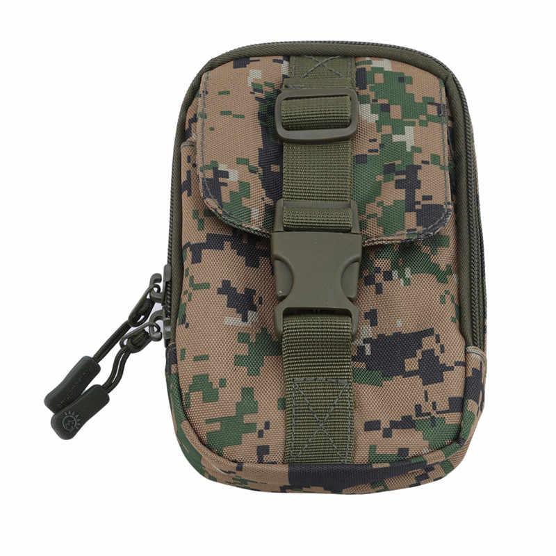 באיכות גבוהה טקטי פאוץ תיק נייד טלפון פאוץ כסף כלים תיק חגורה צבאי ציד פאני תיק מותניים תיק חיצוני אבזרים