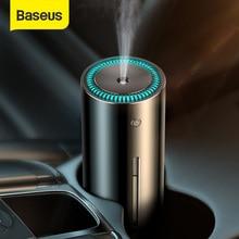 BASEUSสำหรับรถบ้านสำนักงานUSB Ultrasonic HumidifierโลหะAir Humidifier NightlightแบบพกพาHumidificador