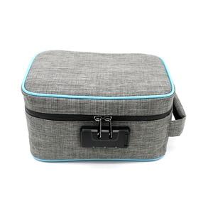 Image 1 - Odor Proof Stash Case Container For Herbs Medicine Lock Smell Proof Bag Box Bag Travel Storage Case