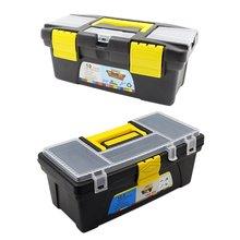 10 дюймов 12.5 дюймов многофункциональных инструментов организатор инструмент запчасти инструмент хранения коробка ABS пластик электрика набор инструментов