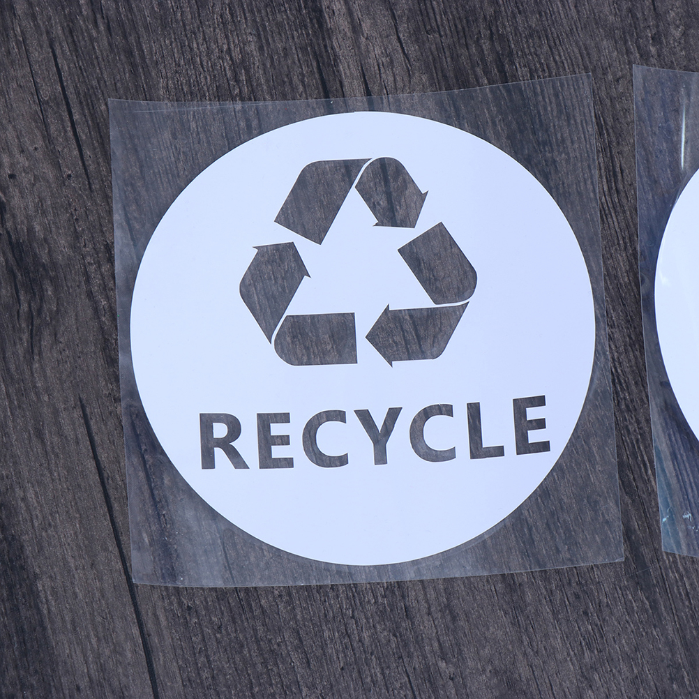 Trash Sign For Trash Can Bin Home Decor Car Truck Window Decal Sticker