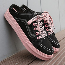 Canvas Shoes Women 2020 Spring and Aummer Women's Lace-up Ca