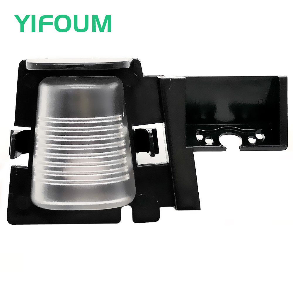 YIFOUM Car Rear View Backup Camera Bracket License Plate Lights For Jeep Wrangler 2007 2008 2009 2010 2011 2012 2013 2014-2017