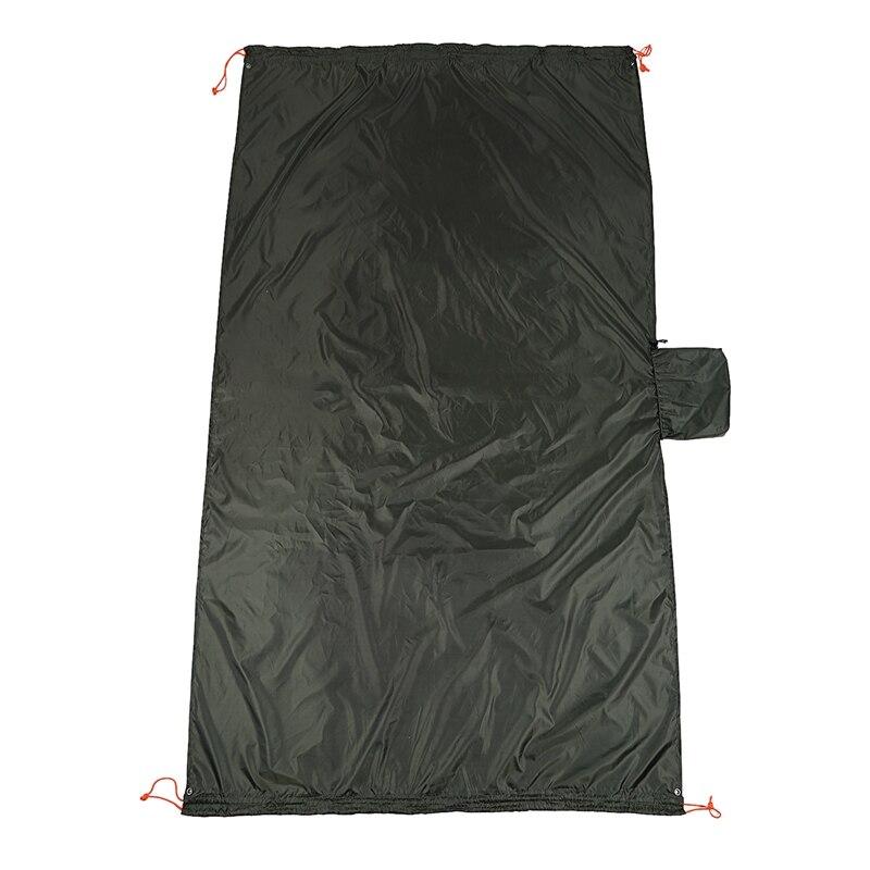 Multifunction Camping Hammock 4 In 1 Waterproof Rain Fly Tent Tarp Camping Blanket For Camping Picnic Blanket Hiking Outdoors Ac