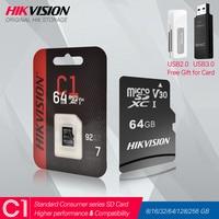HIKVISION Speicher karte Class10 8GB 16GB 32GB 64GB 128GB 256gb Max 92 Mt/s MicroSDHC/XC UHS-I TF Micro SD Karte # C1