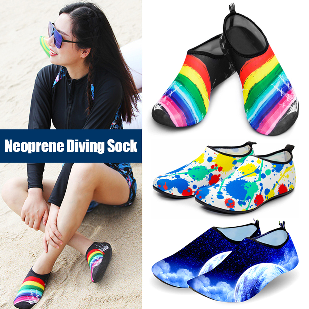 Ботинки водные для мужчин и женщин, быстросохнущие, для пляжа, плавания, подводного плавания, йоги, упражнений на лето