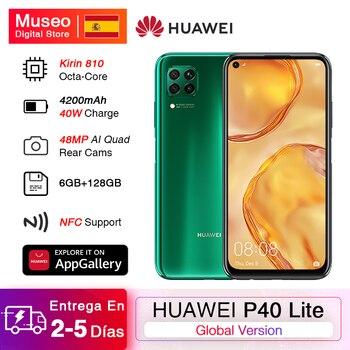 Перейти на Алиэкспресс и купить Huawei P40 Lite смартфон с 6,4-дюймовым дисплеем, процессором Kirin 810, ОЗУ 6 ГБ, ПЗУ 128 ГБ, 48 МП, 16 МП