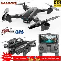 5G Wifi GPS Drone 4K עם מצלמה HD אוויר pix Drone אנטי לנער quadrocopter WiFi FPV RC quadcopter Dron selfie בצע לי