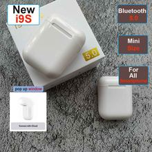 i9s tws i10 i7s tws Bluetooth Earphone Mini Headphone Wireless Earbuds Sport Headset with Charging Box For apple ear iphone(China)