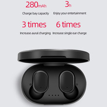 A6S Version TWS Earphones Real Bluetooth 5.0 Wireless Earphones DSP Active Noise Cancellation Sports Music gaming Earbuds(China)