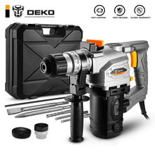 Multifunctional Rotary-Hammer Impact-Drill Electric DKRH26LD4/DKRH32LD5 DEKO with Bmc-And-Accessories