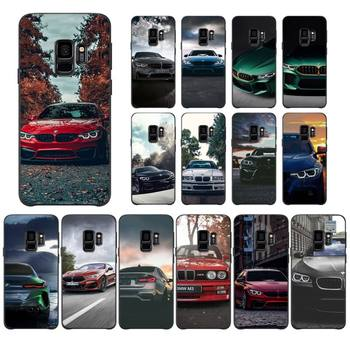 Blue Red Car For Bmw Phone Case For Samsung S5 6 6Edge 7 8 9 10 10Lite 10Plus 20 20lite 20Ultra Case image