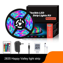 LED Lights With RGB 2835 Set Of Glue-Drop Waterproof Magic 5 Meters 10 For Holiday Decoration
