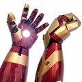4000582386188 - Hombre de Hierro 1:1 armadura portátil brazo casco mk42 guantes de alta calidad marvel contacto eléctrico abierto