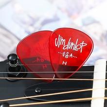 цена на Dunlop Guitar Pick Gels Vivid Translucent Plectrum Mediator Bass Mediator Acoustic Electric Accessories Classic Guitar Picks