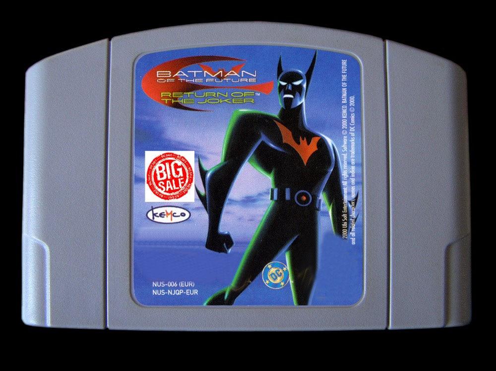 64 Bit Games ** Batman of the Future Return of the Joker ( English PAL Version!! )|Game Deals| |  - title=