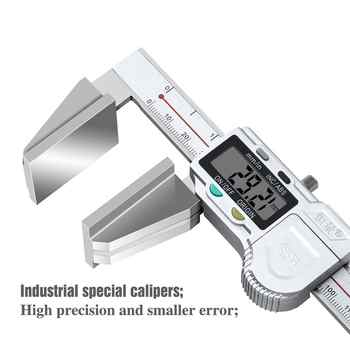 High Precision Industrial Digital Display Caliper Accurate Measuring Calipers Stainless Steel Measuring Tools 0-150MM 0-200MM