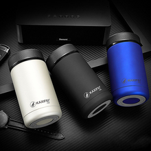 Business Vacuum Flask with Filter Thermos Tea coffee mug Insulated bottle 304 Stainless Steel Travel Thermocups