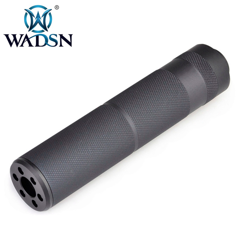 WADSN Tactical METAL C Type Silencer 155MM Version With Sound-absorbing Foam Spring Prevents Jams WME02011 Paintball Accessories strap