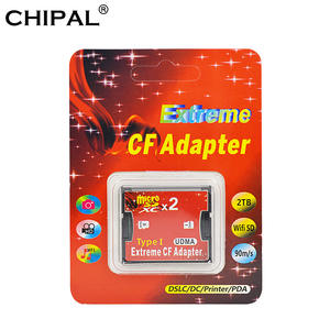 CHIPAL Tf-Card-Adapter Microsd Compact-Type SDXC UDMA Dual-Slot To SDHC Package Extreme