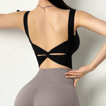 Sexy Back Stretchy Gym Yoga Sports, Bras Women Push Up breathable Fitness Workout Bras Athletic Sport Brassiere Crop Top Sport9s