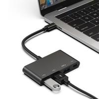 USB Hub Typ C zu 2 Port USB 2.0 USB 3.0 PD Multi Funktion Hub Konverter Adapter für PC|Netzwerkknoten|   -