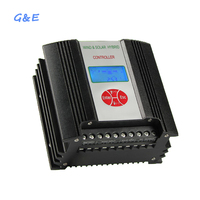 LCD Display Wind and Solar Hybrid Controller 400W 12V And 24V For Option