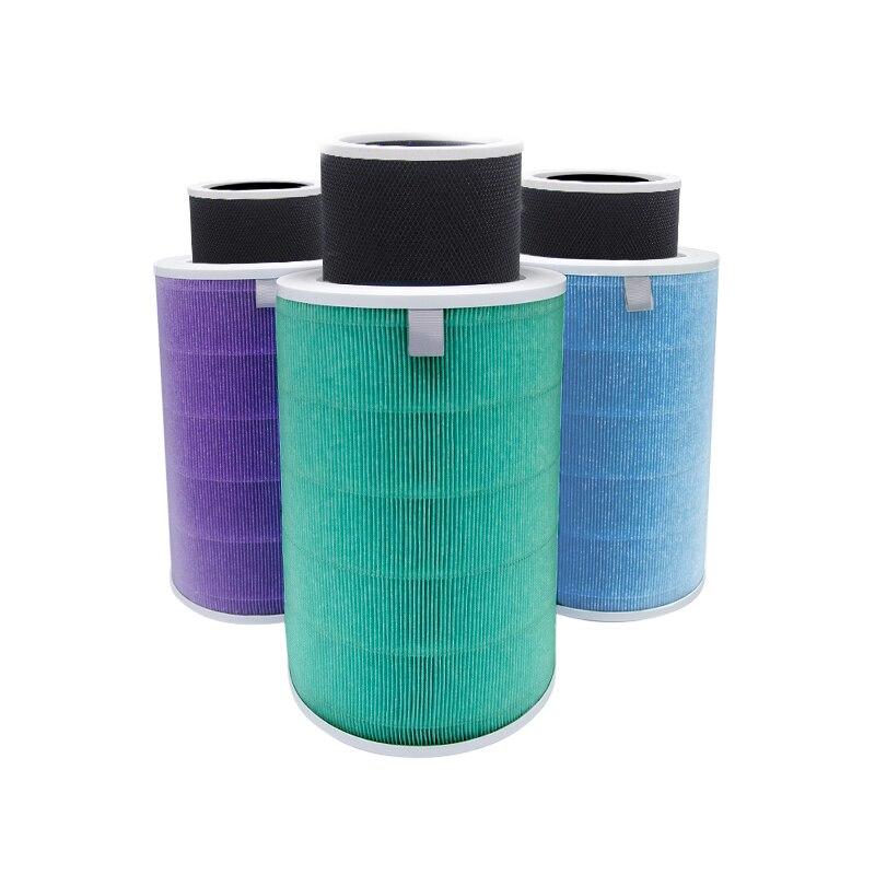 Nuevo filtro de aire de repuesto para Xiaomi mi 1/2/2 S/3 Pro filtro purificador de aire carbón activado Hepa PM2.5 capa de red de carbono extraíble