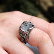 Modyle Vintage Wedding Anniversary Ring with Unique Stone Design Boho Jewelry Fashion Cocktail Party Rings for Women Wholesale